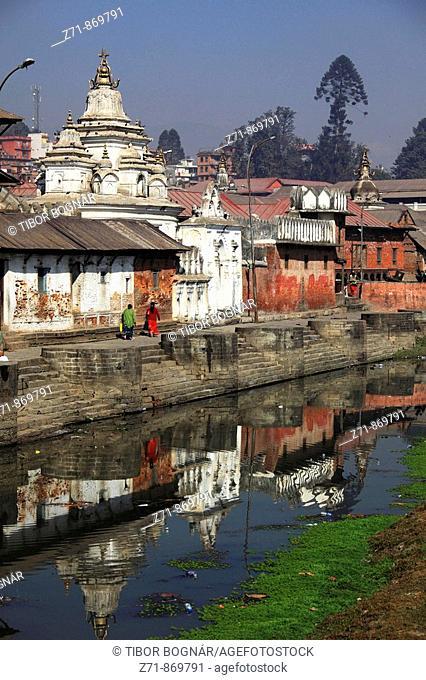 Nepal, Kathmandu Valley, Pashupatinath, hindu shrines