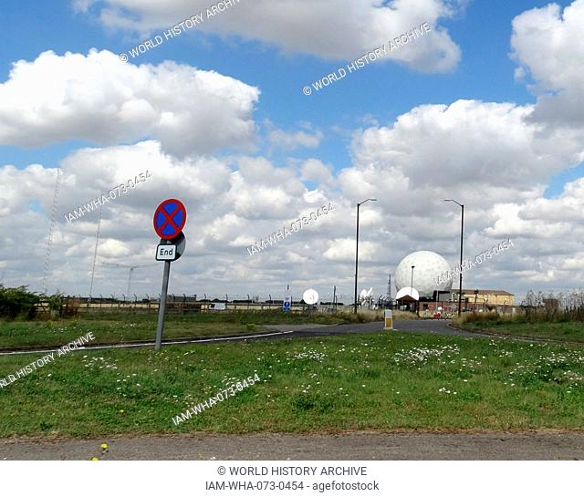 RAF Croughton is currently serving as a United States Air Force communications station. Home to one of Europe's largest military switchboards