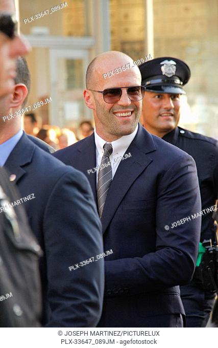 """Jason Statham at the Premiere of Warner Bros' """"""""The Meg"""""""" held at the TCL Chinese Theatre in Hollywood, CA, August 6, 2018"""