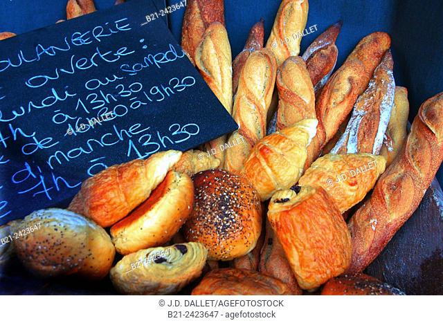 Bakery at Bordeaux, Gironde, Aquitaine, France