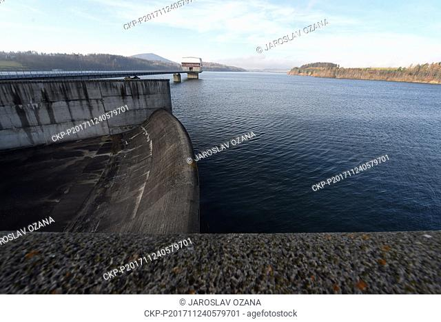 The so far last large dam in the Czech Republic was completed in Slezska Harta, north Moravia, in 1998 and its construction lasted ten years