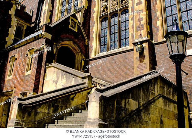 Barristers Library building, Lincoln's Inn, London, UK