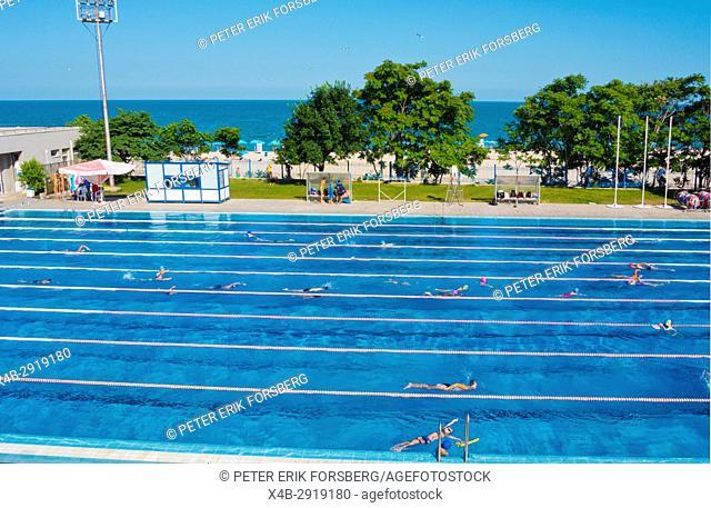 Primorski swimming pool and spa, Varna, Bulgaria