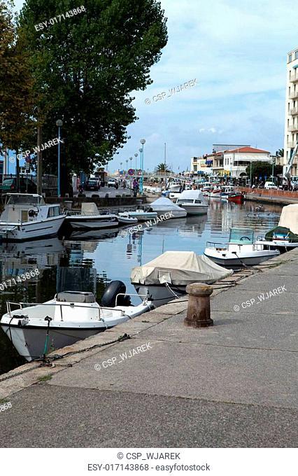 Viareggio - The Burlamacca canal