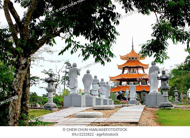 Scenery of KBS Buddhist Village, kuching, sarawak, Malaysia, borneo