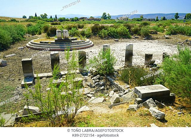 Miletus Old Port. Ancient Greece. Asia Minor. Turkey