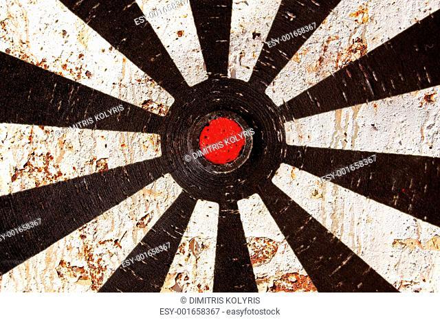 rusty target