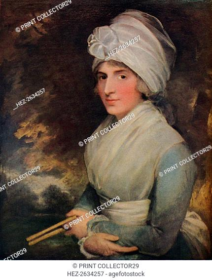 'Sarah Siddons', 1787. Artist: Gilbert Stuart