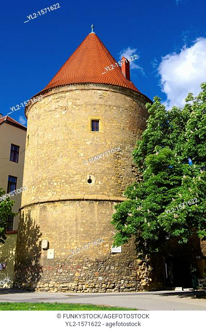 Tower of the medieval Cathedral Walls, Zagreb, Croatia