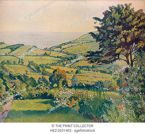 'Sea View, Fishponds', 1915, (c1932). Artist: Lucien Pissarro