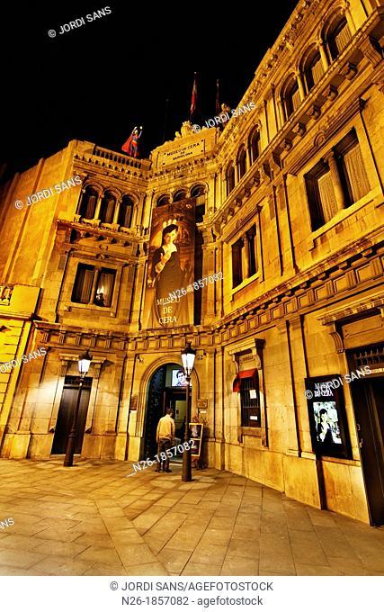 Wax Museum  Old building Banca de Credito y Docks  XIXth century  By Elies Rogent