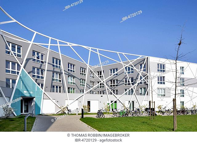 Student Housing Campus Living in the Science Quarter Sci:Q, Hamm-Lippstadt University of Applied Sciences, Hamm, Ruhr Area, North Rhine-Westphalia, Germany