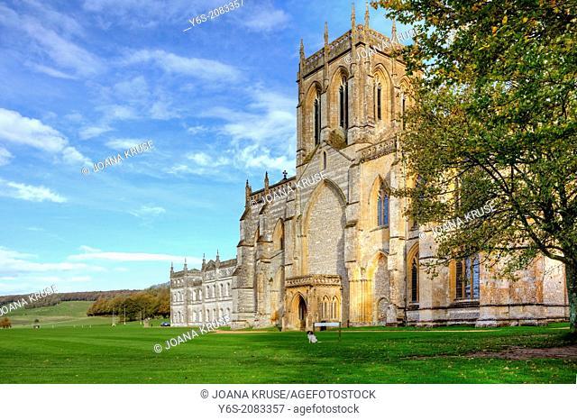 Milton Abbey, Dorset, England, United Kingdom