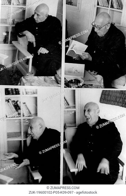 1970 - Mossadeg - May Be Iran's 'Strong Man' - Once Again. In The Shah's Country: For the first time in seven years - pictures of 84 year old ex-Premier...