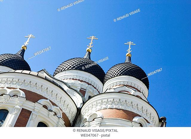 Alexander Nevski Cathedral. Tallinn, Estonia