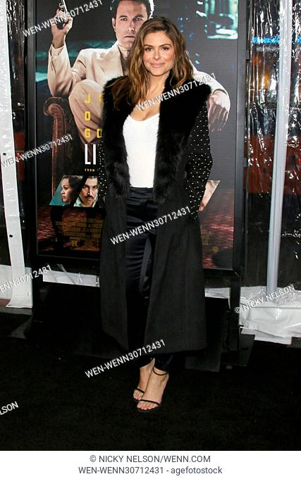 """""""""""""""Live By Night"""""""" Premiere at TCL Chinese Theater IMAX on January 9, 2017 in Los Angeles, CA Featuring: Maria Menounos Where: Los Angeles, California"""