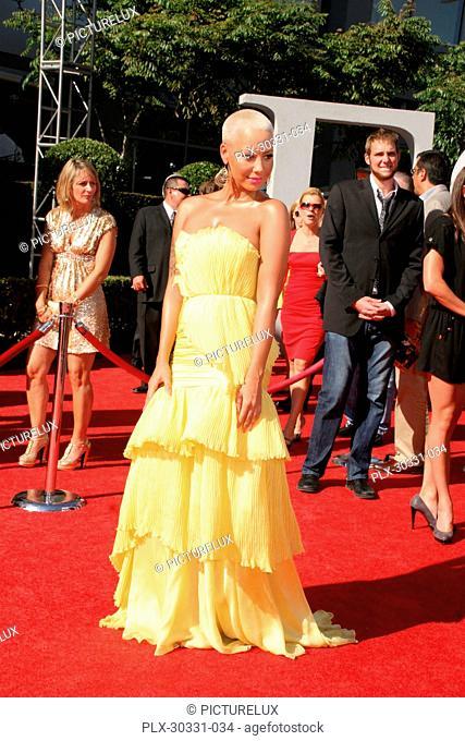 Amber Rose 07/14/10 The 2010 ESPYS @Nokia Theatre, Downtown LA Photo by Ima Kuroda/www.HollywoodNewsWire.net