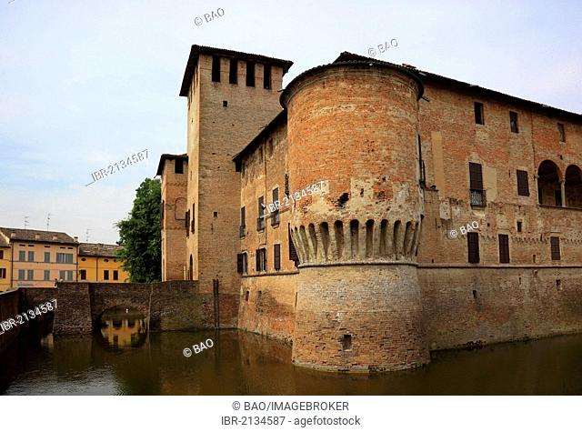 Fontanellato Castle, Rocca Sanvitale, Emilia Romagna, Italy, Europe