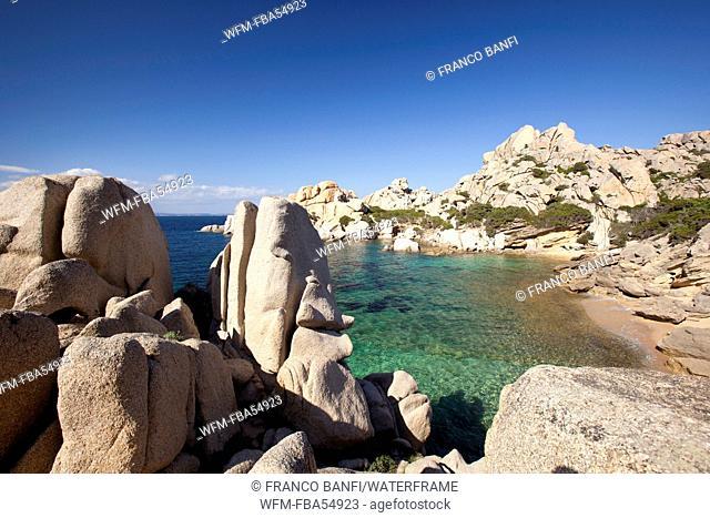 Bay of Capo Testa near Santa Teresa Gallura, Sardinia, Italy