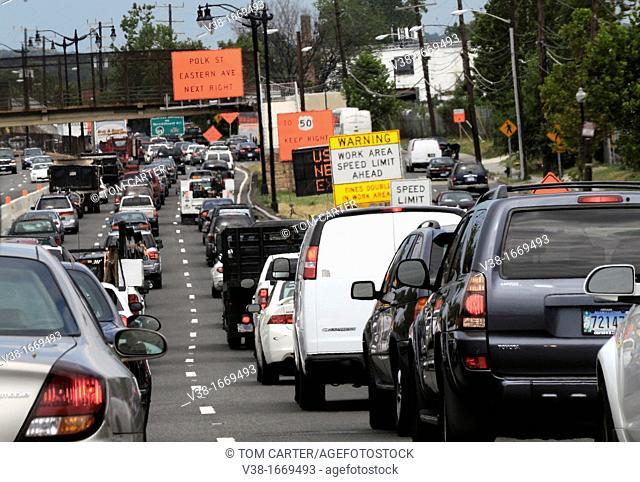 Traffic Jam in Washington, DC