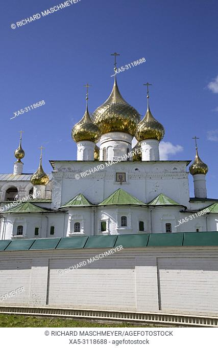 Cathedral, Resurrection Monastery, Uglich, Golden Ring, Yaroslavl Oblast, Russia