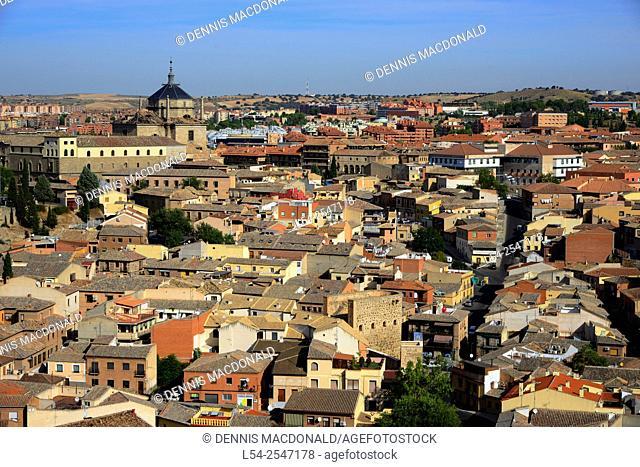 Panorama View Toledo Spain ES Castilla-La Mancha