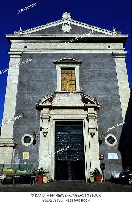 Chiesa di Sant'Agata la Vetere , Sant'Agata la Vetere Church, first Cathedral in Catania, Piazza Sant'Agata la Vetere , Catania, Sicily , Italy