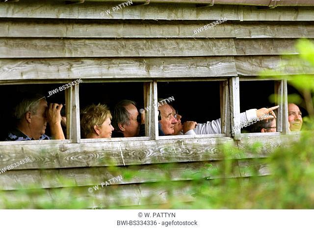 Birdwatchers; Ornithologen, Belgium