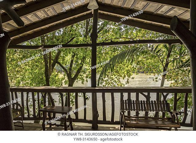 Deck, Pedacito De Ceilo Eco Lodge, San Carlos, Costa Rica
