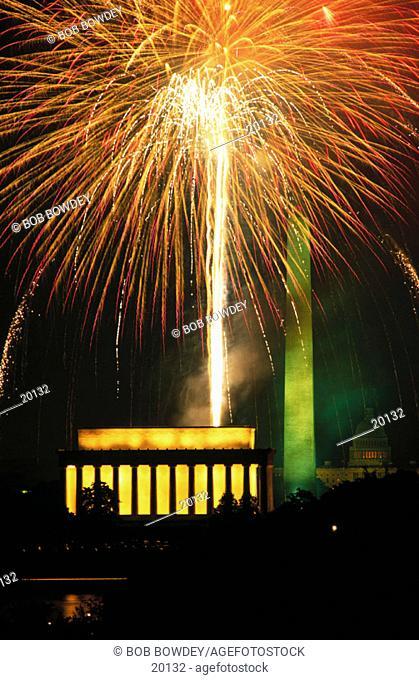 4th of July. Washington D.C. USA