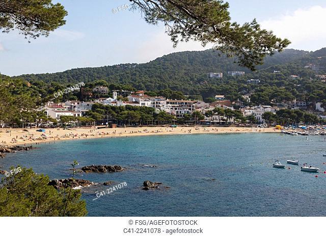 Llafranc. Costa Brava. Girona, Spain