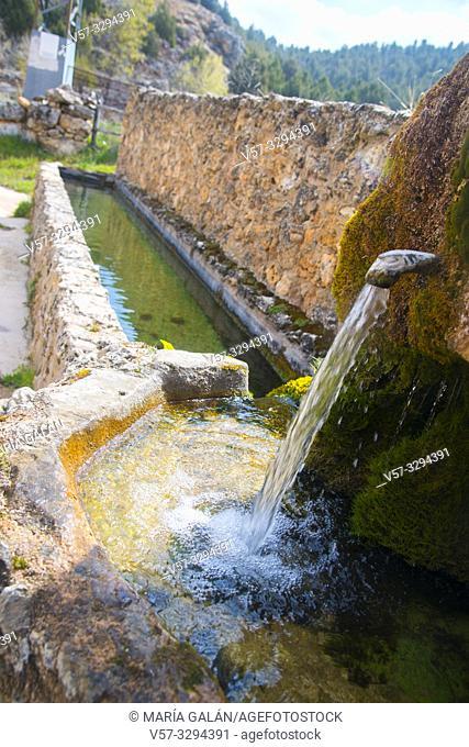 Fountain. Chaorna, Soria province, Castilla Leon, Spain