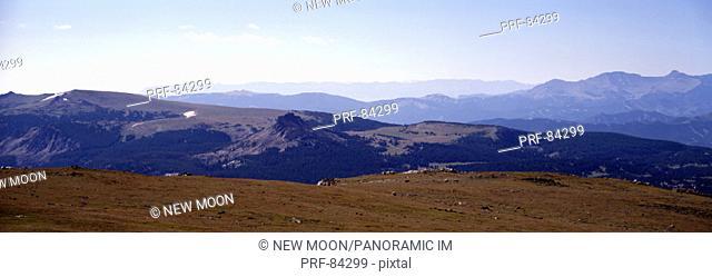 High Alpine Plateau Shoshone National Forest WY