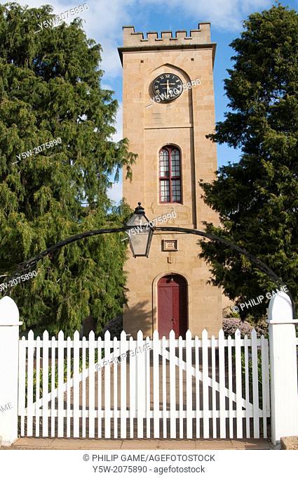 Colonial-era Church of St Luke the Physician at Richmond, Tasmania, Australia