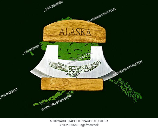 The Alaskan ULU knife is an Inuit (Eskimo) all-purpose knife. The ULU tool can be use for cutting pizza, cheese, vegetables among other things