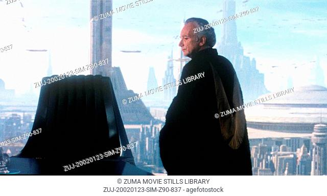 Jan 23, 2002; Hollywood, CA, USA; Actor IAN MCDIARMID as Supreme Chancellor PALPATINE in 'Star Wars: Episode II Atack of The Clones
