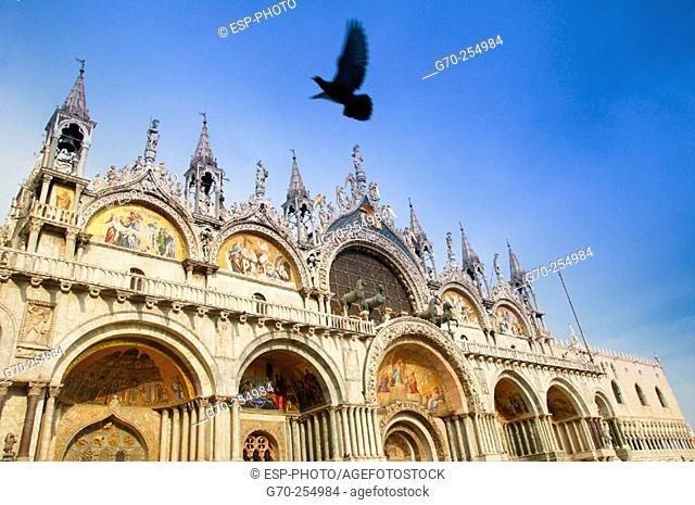 St. Mark's basilica. Venice. Italy
