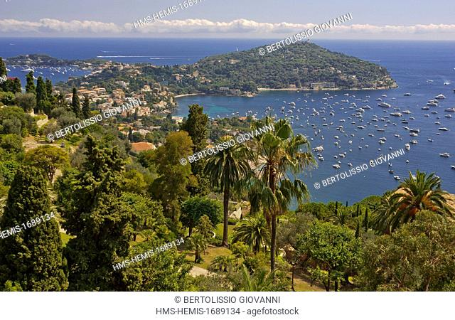 France, Alpes Maritimes, Villefranche sur Mer, St Jean Cap Ferrat