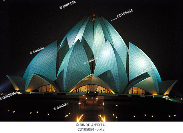 Bahai Lotus temple. New Delhi. India