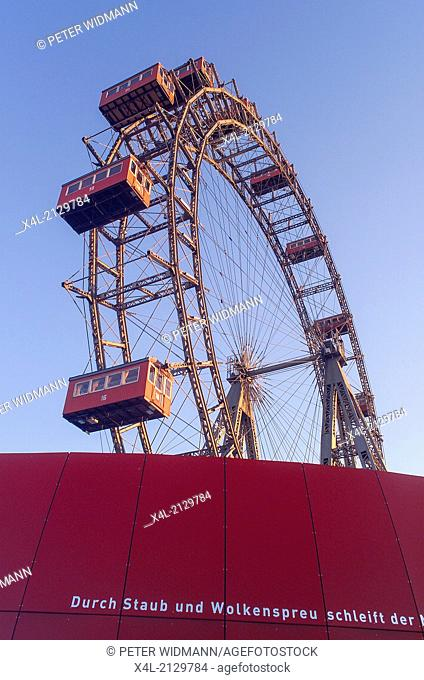 giant Ferry Wheel, Prater, Austria, Vienna
