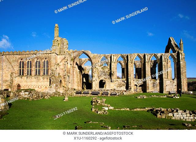 Bolton Abbey and Priory Church Yorkshire Dales England