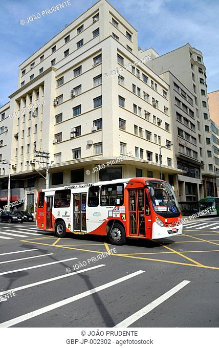 Urban transport, Francisco Glicério Avenue, General Osório Street, 2016, City, Campinas; Sao Paulo Brazil