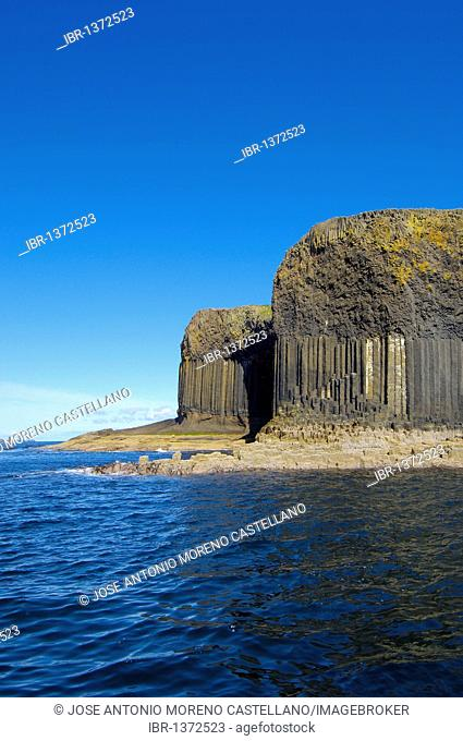 Isle of Staffa Nature Reserve, Inner Hebrides, Argyll and Bute, Mull, Scotland, United Kingdom, Europe