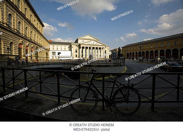 Germany, Bavaria, Munich, National theatre