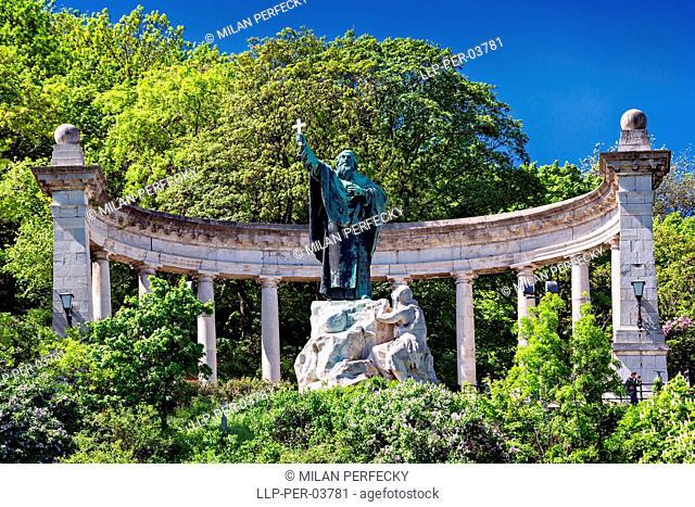 Szent Gellert - szobor, Budapest, Hungary