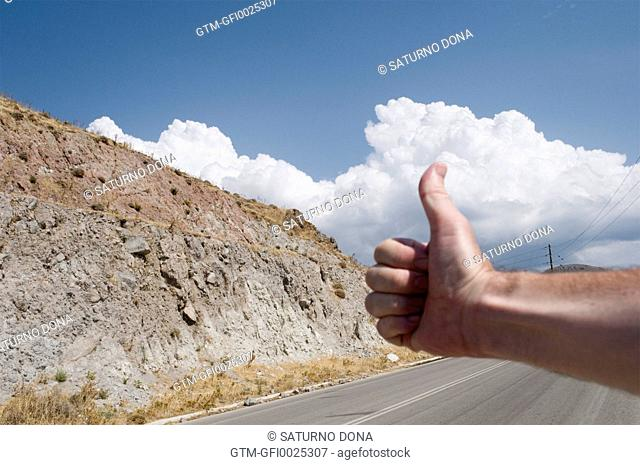 Hitchhiking in Greece