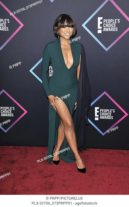 Kat Graham at E! People's Choice Awards held at the Barker Hangar in Santa Monica, CA on Sunday, November 11, 2018. Photo by PRPP / PictureLux