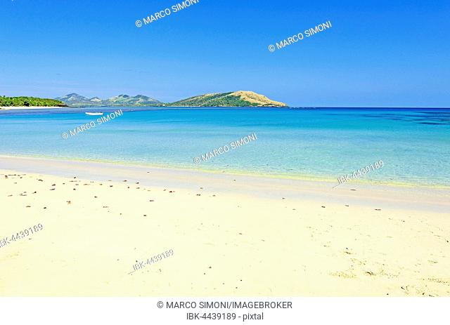Blue Lagoon Beach, Nacula island, Yasawa, Fiji