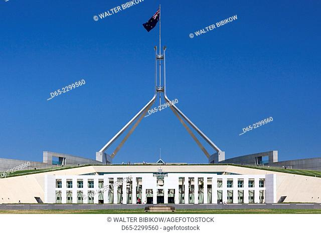 Australia, Australian Capital Territory, ACT, Canberra, Parliament House, daytime