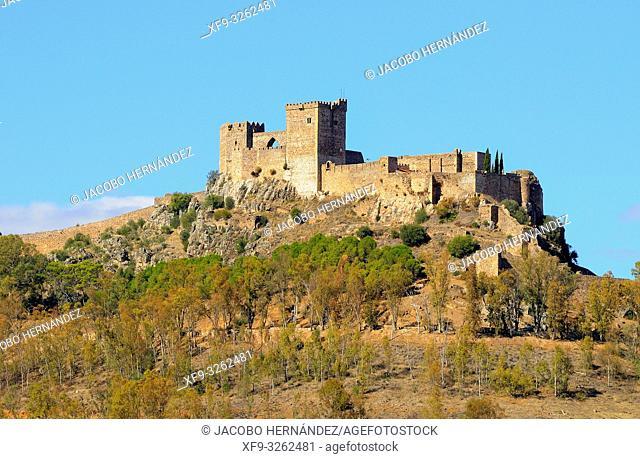 Castle of Alburquerque. Badajoz province.Extremadura. Spain